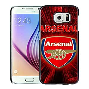 Hot Sale Samsung Galaxy S6 Case ,Arsenal 4 Black Samsung Galaxy S6 Cover Unique And Beautiful Designed Phone Case