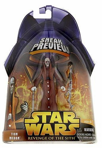 Hasbro Star Wars Revenge of The Sith 2005 Tion Medon Action Figure [Sneak Preview]