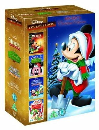 Mickey Mouse Once Upon A Christmas.Mickey S Christmas Collection Once Upon Twice Upon Magical