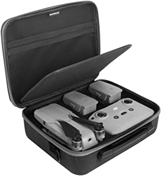 Remote Controller /& Accessories with Shoulder Strap for Travel Battery Carrying Case for DJI Mavic Air 2 Hard Mavic Drone Bag Fits for Mavic Air 2 Drone