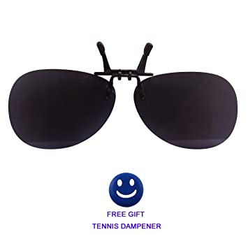 t-lifestyle redondo polarizadas gafas de sol clip-on flip-up lentes plástico
