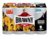 Health & Personal Care : Brawny Paper Towels, 12 Count Big Rolls, White by Brawny