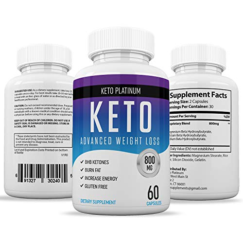 Keto Pills from Shark Tank - Ketogenic Fat Burner - for Women & Men - Promotes Healthy Energy ...
