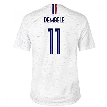 a5ca53ee1c5 Image Unavailable. Image not available for. Color: 2018-2019 France Away  Nike Football ...