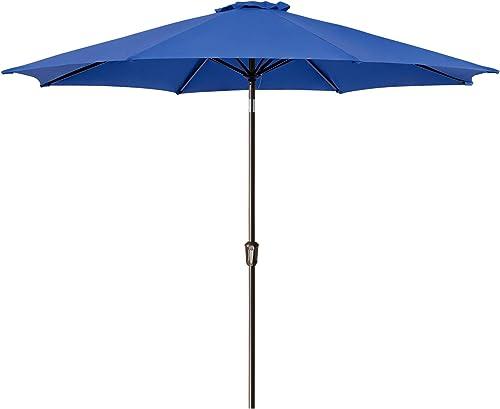 Ralawen 11 FT Patio Umbrella Outdoor Market Table Umbrellas