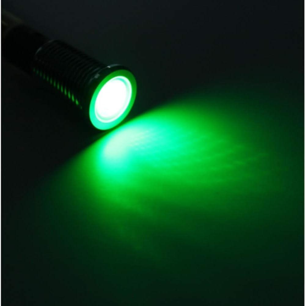 Alamor 12V 10Mm Led Armaturenbrett Blinker Warn Signal Lampe-Gr/ün