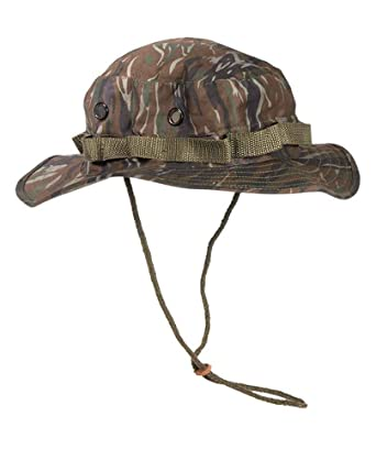 Mil Tec Gi Boonie Hat Tiger Stripe At Amazon Mens Clothing Store