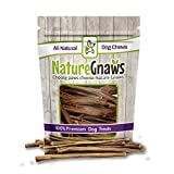 "Nature Gnaws Extra Thin Pork Bully Sticks 5-6"" Review and Comparison"