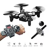 Cheap Mini Pocket Drone,Dulcii RC Quadcopter,FPV WiFi 0.3MP Camera,With Watch Style Remote Controller
