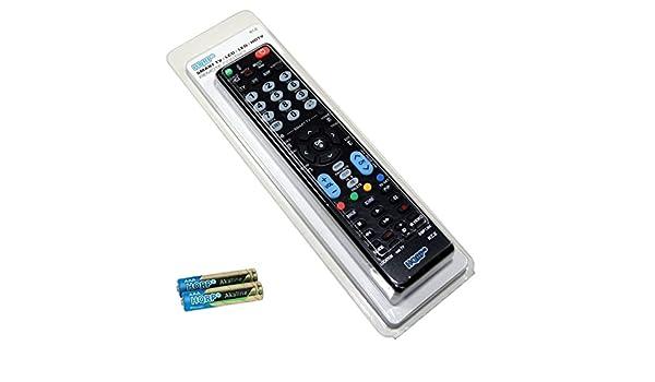 HQRP Mando a Distancia Universal para LG 43UF6807, 49UF6807, 55UF6807, 65UF6807 Televisor UHD (4K) con Smart TV (2160x3840, 900 Hz): Amazon.es: Electrónica