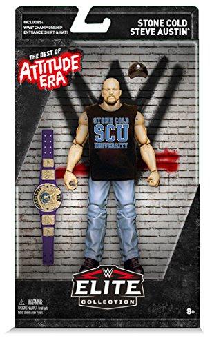 WWE Best of Attitude Era Stone Cold Steve Austin Action Figure (Stone Cold Action Figure)