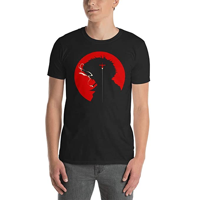c9852ea7f Cowboy Bebop Spike Spiegel Anime T Shirt Tee Shirts: Amazon.in: Clothing &  Accessories