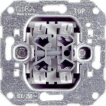 GIRA Serie Standard 55 - reinweiß glänzend (015800) Jalousietaster Gira..