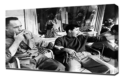 Furniture Baby Rockabye (Martin and Lewis (Rock-a-Bye Baby) 02 - Canvas Art Print)
