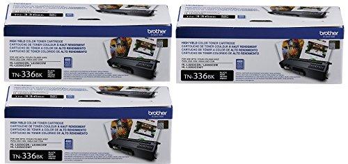 Price comparison product image Brother Printer TN336BK Toner RltJHS,  3Pack (Black)