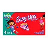 Pampers Easy Ups Trainers For Girls, Size 2T-3T, 88 Count