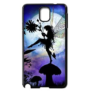 Diy Moon Fairy Phone Case for samsung galaxy note 3 Black Shell Phone JFLIFE(TM) [Pattern-1]