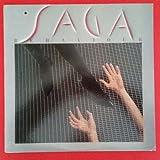 SAGA Behaviour LP Vinyl VG++ Cover VG+ Lyric Sleeve BFR 40145