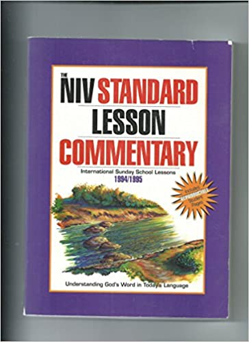 Standard Lesson Commentary New International Version Ninety Four