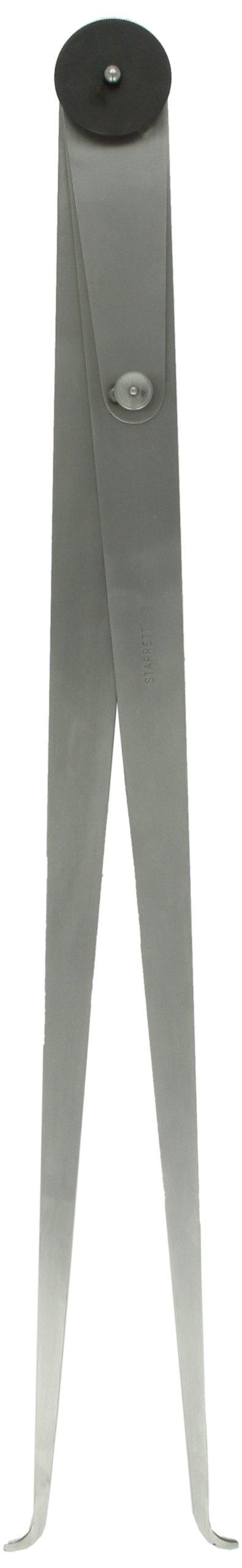 Starrett 37-24 Inside Joint Caliper, Steel, Flat Leg, 0-24'' Range