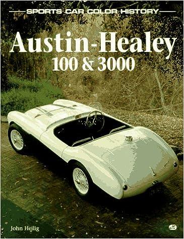 Book Austin-Healey 100 & 3000 (Sports Car Color History)