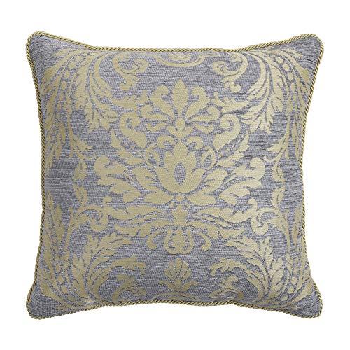 Croscill Nadia Square Pillow Light Grey