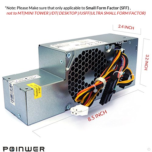 PW116 WU136 235W Desktop Power Supply for Dell Optiplex 760