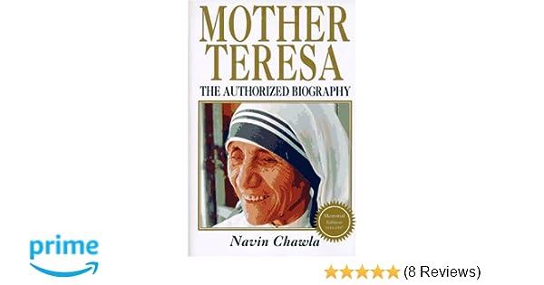 Mother teresa navin chawla 9781852309114 amazon books fandeluxe Image collections