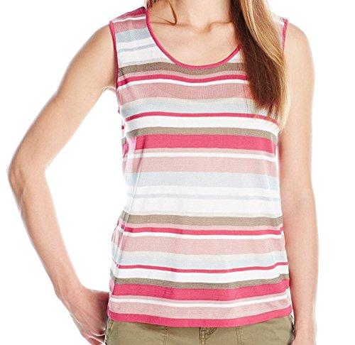 Stripe Sleeveless Shell - 4