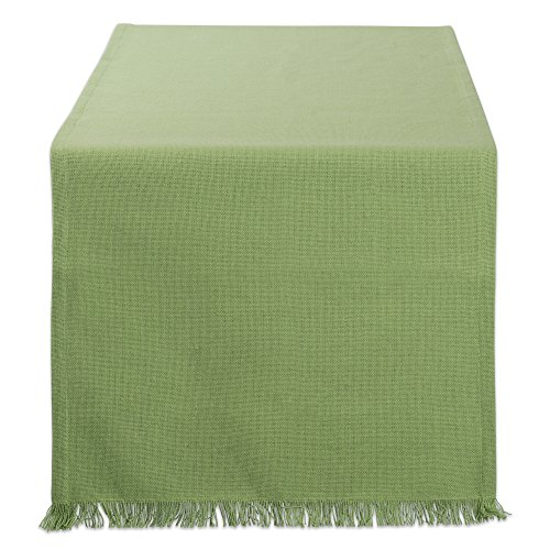 DII CAMZ10440 Table Runner, 14x72, Solid Green