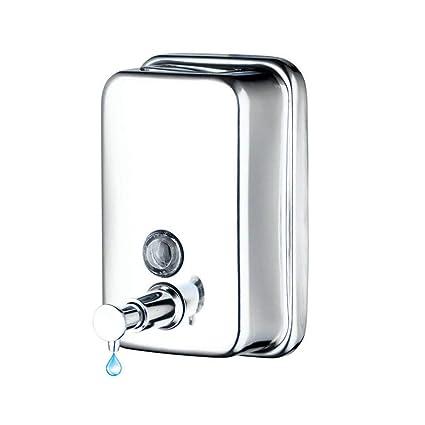 Dispensador de jabón acero inoxidable de mano dispensador de jabón baño de hotel cocina colgante de