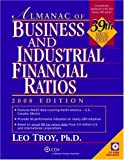 Almanac of Business and Industrial Financial Ratios, Leo Troy, 0808017594