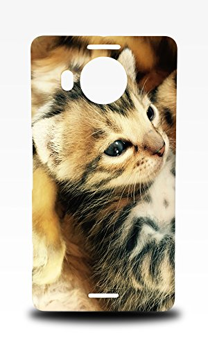 Foxercases Design Bengal Cat 9 Hard Back Case Cover For Microsoft Lumia 950 XL