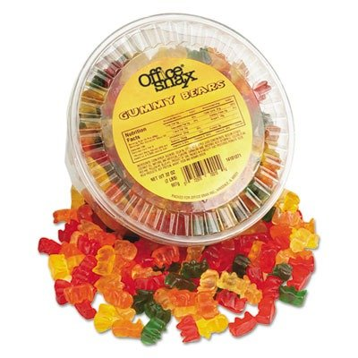 individually packaged gummy bears - 2