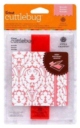 Cuttlebug Embossing Borders (Cuttlebug Cricut A2 Embossing Folder and Border, Brocade)