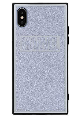 TILE MARVEL 마블 로고 iPhone XS/X 케이스 글리터 실버/핑크/블랙/레드