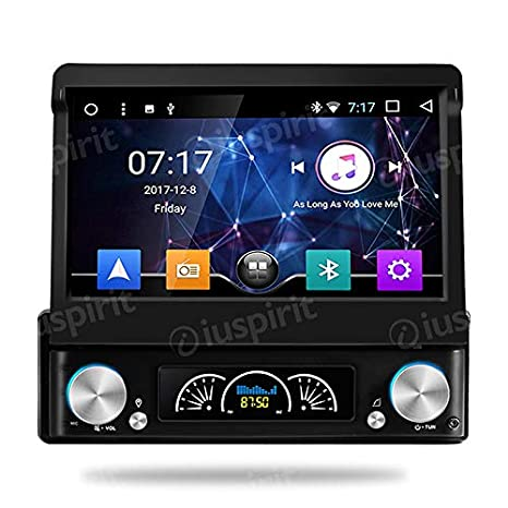 Android 7.1 allwinner T3 GPS DVD USB SD WiFi Dab + Caja mirrorlink Bluetooth Radio de Coche 1 DIN navegador Universal con Monitor extraíble: Amazon.es: ...