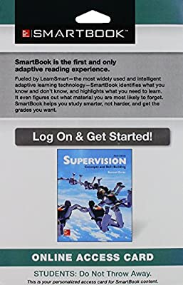 SmartBook Access Card for Supervision: Concepts and Skill-Building