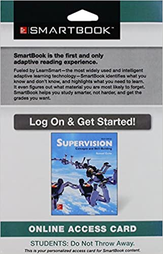 Amazon smartbook access card for supervision concepts and amazon smartbook access card for supervision concepts and skill building 9781259296925 books fandeluxe Choice Image