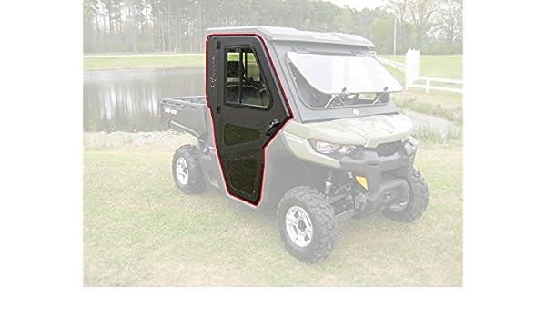 CAN-AM DEFENDER UR BLACK COMPLETE SOFT CAB ENCLOSURE KIT #715002917