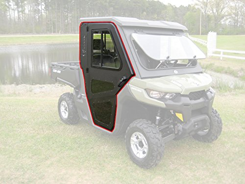 Can Am 2016 17 18 19 Defender Steel Doors Only for Cab Enclosure -  CRU Products, UC865