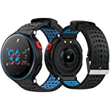mijiaowatch X2 Plus Smart Watches Sport Fitness Tracker, Heart Rate Monitor, Pedometer Sleep Tracker, Remote Camera Stopwatch Bracelet (Blue)