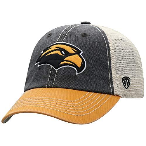 Top of the World Southern Mississippi Golden Eagles Men's Mesh-Back Hat Icon, Gold, Adjustable