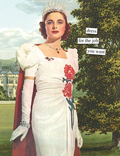 Anne Taintor All Occasion Thank You Greeting Card - Job You Want