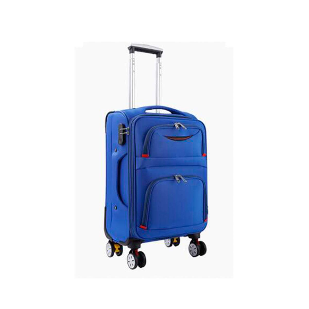 Trolley Case Travel Organizer Black Latest Style Carrying Case Best Gift Color : Brown, Size : 20 Simple Style 20//22//24 Shengshihuizhong Soft Rotating Luggage