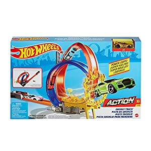 Hot Wheels Energy Track Set...