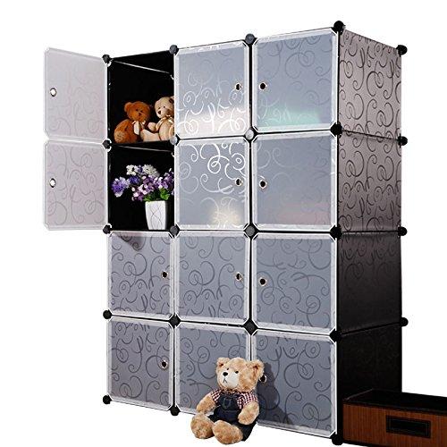Multi Use DIY Plastic 12 Cube.
