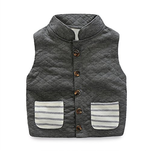 Fairylinks Unisex Cotton Toddler Waistcoat
