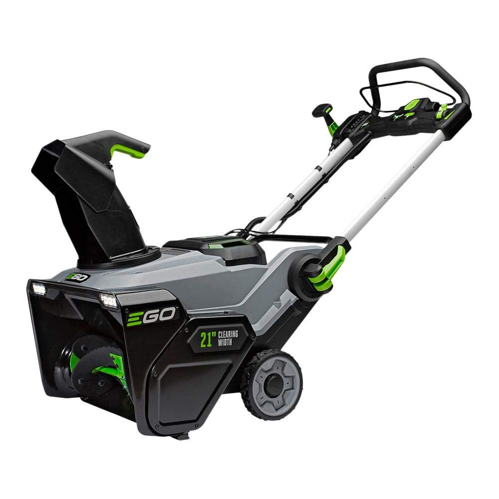 EGO 21 in. Cordless 56-Volt Lithium-Ion Single Stage Electric Snow Blower - Battery and Charger Not Included (Renewed) by EGO