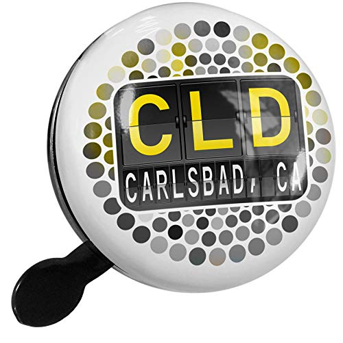 Cld Air (NEONBLOND Bike Bell CLD Airport Code for Carlsbad, CA Scooter or Bicycle Horn)